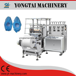 Disposable PP/Non Woven Shoe Cover Machine pictures & photos