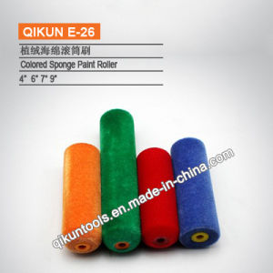 E-25 Yellow Color Sponge Foam Roller pictures & photos