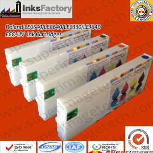Eco-UV Curable Ink Cartridges for Roland Lec-540UV/Lec-300UV pictures & photos