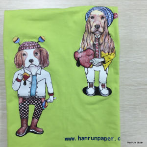 Iron on Heat Transfer Paper for Cotton T-Shirt pictures & photos