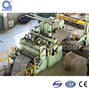 Cold/Hot Rolled Galvanized Mild Stainless Aluminum Steel Slitting Machine Line pictures & photos