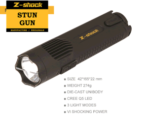 New Patented The Brightest CREE Q5 LED Stun Gun