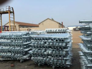 Q235 Wedge Anchor, Pole Anchor, Ground Screws pictures & photos