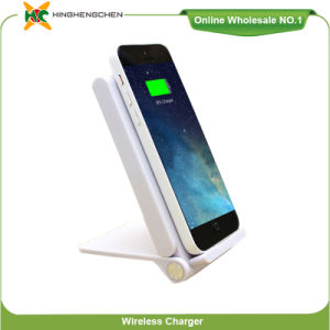 High Quality Qi Desktop Wireless Charger Fast Charging Stand pictures & photos