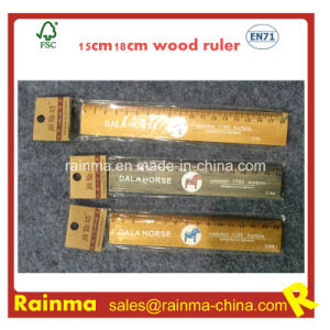 15cm18cm Wooden Ruler with Print pictures & photos