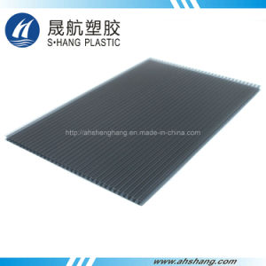 Twin-Wall Polycarbonate Hollow Board with 50um UV Protection pictures & photos