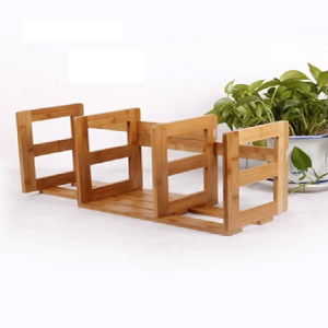 Customize Natural Bamboo Book End / Book Stand / Bookend pictures & photos