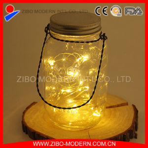 Wholesale Cheap Solar Mason Jar with Solar Lights Ild pictures & photos
