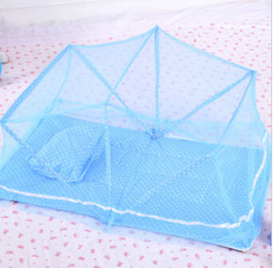 Lid Shape Baby Mosquito Net Cover Simple and Practical Pest Control Pillow Pad pictures & photos