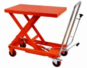 TF Manual Hydraulic Lift Truck pictures & photos
