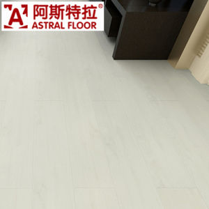 Best Seller White Color Single Click System Laminate Flooring pictures & photos