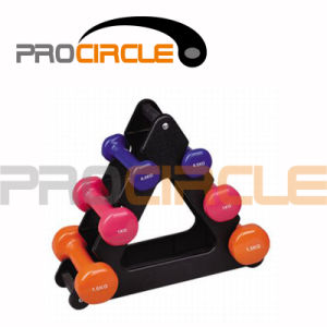 Dumbbell Set with Stand / Rack (PC-DR3002) pictures & photos