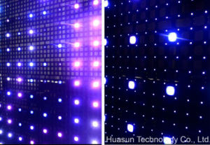 Transparent LED Mesh for Building Cover pictures & photos