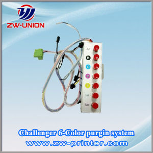 Solvent Printer Parts with 4/6 Color Pressure System