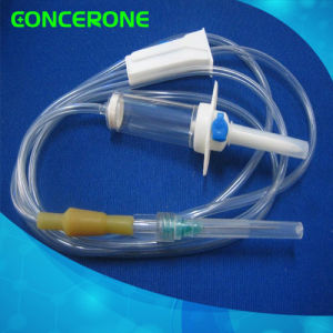 Medical Disposable Infusion Set with Needle Cap (IV-1001) pictures & photos