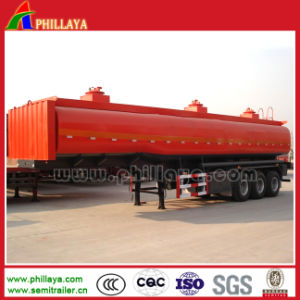 Good Quality 3 Axles 35000-50000L Fuel Tanker pictures & photos