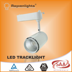 30 Watt High Brightness COB Round LED Track Light