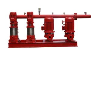 a Set of Vertical Multi-Stage Fixed-Type Fire Pump Package pictures & photos
