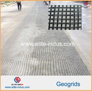 Asphalt Pavement Fiberglass Geogrids for Dam Aiport Runway Foundation pictures & photos