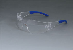 Safety Glasses (JK12005-Blue+Clear) pictures & photos