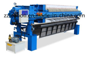 Good Effect Filteration Membrane Sludge Filter Press pictures & photos