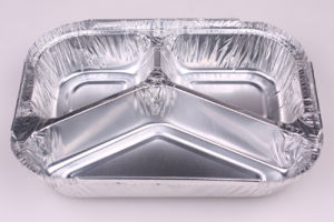 8011 O Aluminium Foil Container for Fast Food