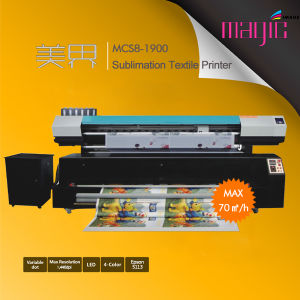 6FT High Speed Direct Sublimation Textile Printer with Double Epson 5113 pictures & photos
