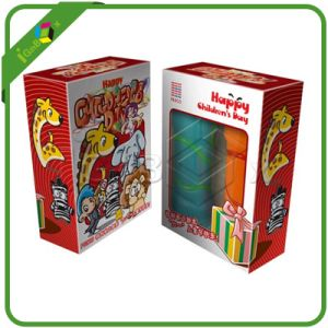 Folding Carton Box for Toys Packaging with PVC Window pictures & photos