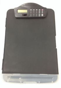 Promotional Gift for File Box with Calculator, File Box Oi27001 pictures & photos