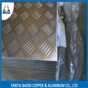 Aluminum Checkered Plate - Five Bar 1060/3003/5052 pictures & photos