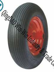 Pneumatic Rubber Wheel Used on Wheelbarrow Tyre pictures & photos