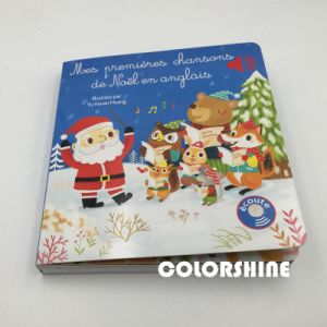 High Quality Child Speaking Sound Music Board Book pictures & photos