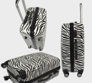 "Fashion Design Pure PC Luggage Set Trolley PC Suitcase 20""24""28"" PC"