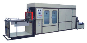 High-Speed Vegetable Plate Vacuum Forming Machine pictures & photos