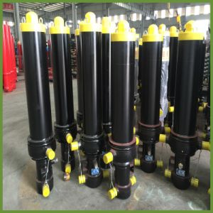 Dump Truck Telescopic Hydraulic Cylinder (Hyva Type FC/FE/FEE Model) pictures & photos