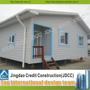 Color Steel Glassfiber Sandwich Panel Prefabricated House pictures & photos
