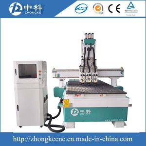 Three Heads Automatic Tool Change CNC Router Machine pictures & photos