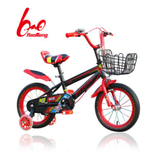 Cc Spoke Colorful Kids Bicycle with Basket pictures & photos