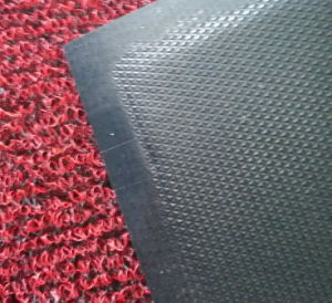 3G Double Color Diamond Backing PVC Roll Mat pictures & photos