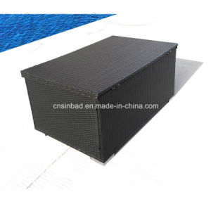 Rattan Box for Outdoor Storage with L132 Cm pictures & photos