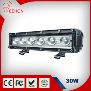 30W Amber White LED Light Bar pictures & photos