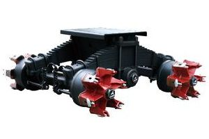 36ton High Mounting Spider Axle Boogie Suspension pictures & photos