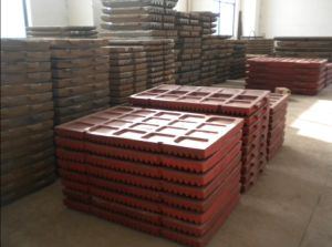 High Manganese Steel Casting Jaw Plate Hot Sale for Srilanka Market pictures & photos
