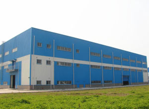 Fast Assembled Steel Structure Building (Steel Building) with Crane pictures & photos