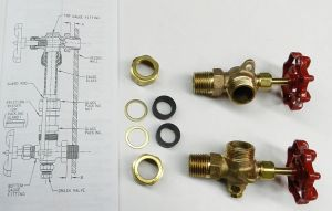"""Steamer Water Gauge Valve Set for 5/8"""" Diameter Sight Glass Steamaster Boilers pictures & photos"""