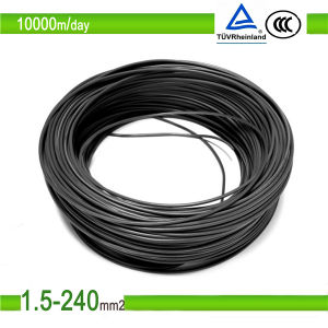 UL TUV Certificate Listed 8/10/12 AWG DC Solar Cable pictures & photos