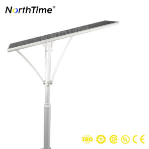 All in One Solar Street Light Bridgelux LED Sunpower Solar Panel for Outdoor Lighting pictures & photos