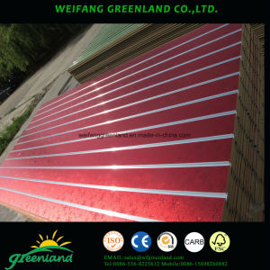 Grooved MDF Slot Board with Aluminum Profile pictures & photos