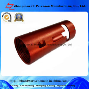 Aluminum Anodizing CNC Machining for Pipe Part (LZ114)
