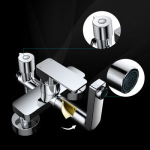 Wall Mounted Rain Shower Set Mixer Shower Set with Hand Shower pictures & photos